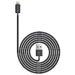 Kanex - Apple MFi Certified 4' Lightning-to-USB Charge-and-Sync Cable - Black