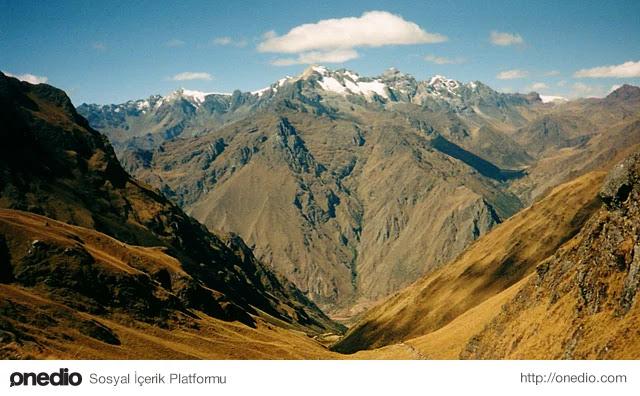 En Uzun Sıradağlar - And Dağları, Güney Amerika