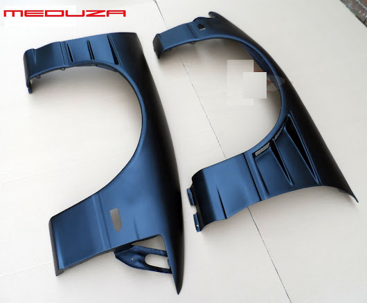 Nissan S13 180SX BN Type Front Wings +30mm