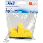 Kent Marine ProScraper & ProScraper II Replacement Stainless Steel Blades - 10 Pack, Size: 3 inch Wide