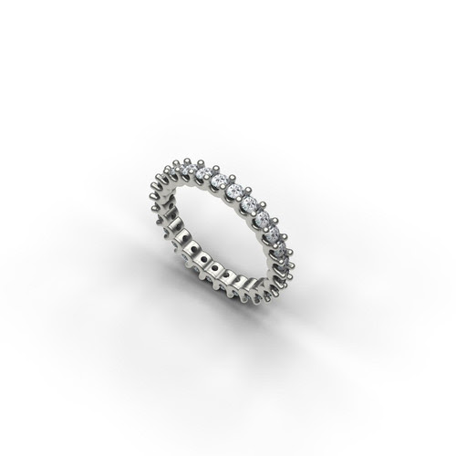 Classic Diamond Eternity Wedding Band exclusively from The Barsky Collection
