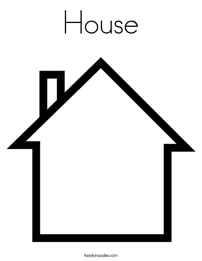 Free Printable Coloring Pages House 2015