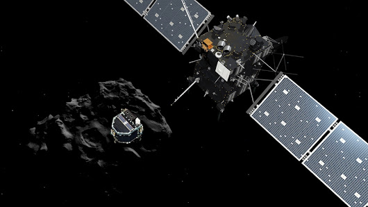 Happening now: The final hours in the Rosetta spacecraft's hazardous journey to a comet