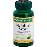 Natures Bounty St. John's Wort, Standardized Extract, 300 mg, Capsules - 100 capsules