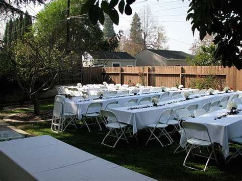 Small Wedding Ideas   Home Wedding Receptions small