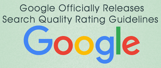 Google's Search Quality Rating Guideline Updated in 2015