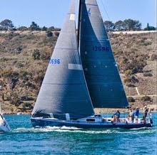 J/125 Hamachi sailing San Diego- Puerto Vallarta race