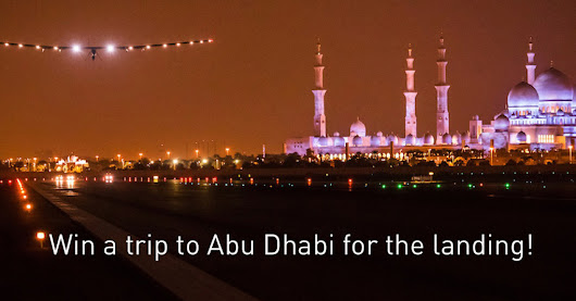 Win a trip to Abu Dhabi for the landing! | VIP DEALS AND DISCOUNTS Worldwide