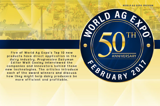 World Ag Expo: Five dairy-specific new product winners announced - Progressive Dairyman