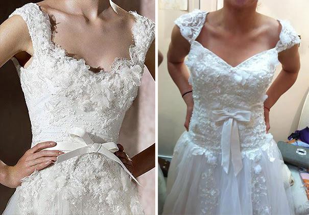 Wedding Dresses: Ads Versus Reality