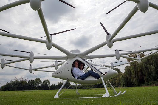 VIDEO: The Volocopter – A Revolution in Personal Flight?