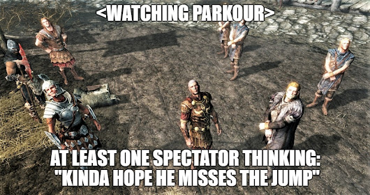 Parkour: Two Kinds Of Spectators
