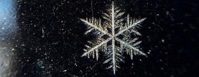 Come nasce un fiocco di neve