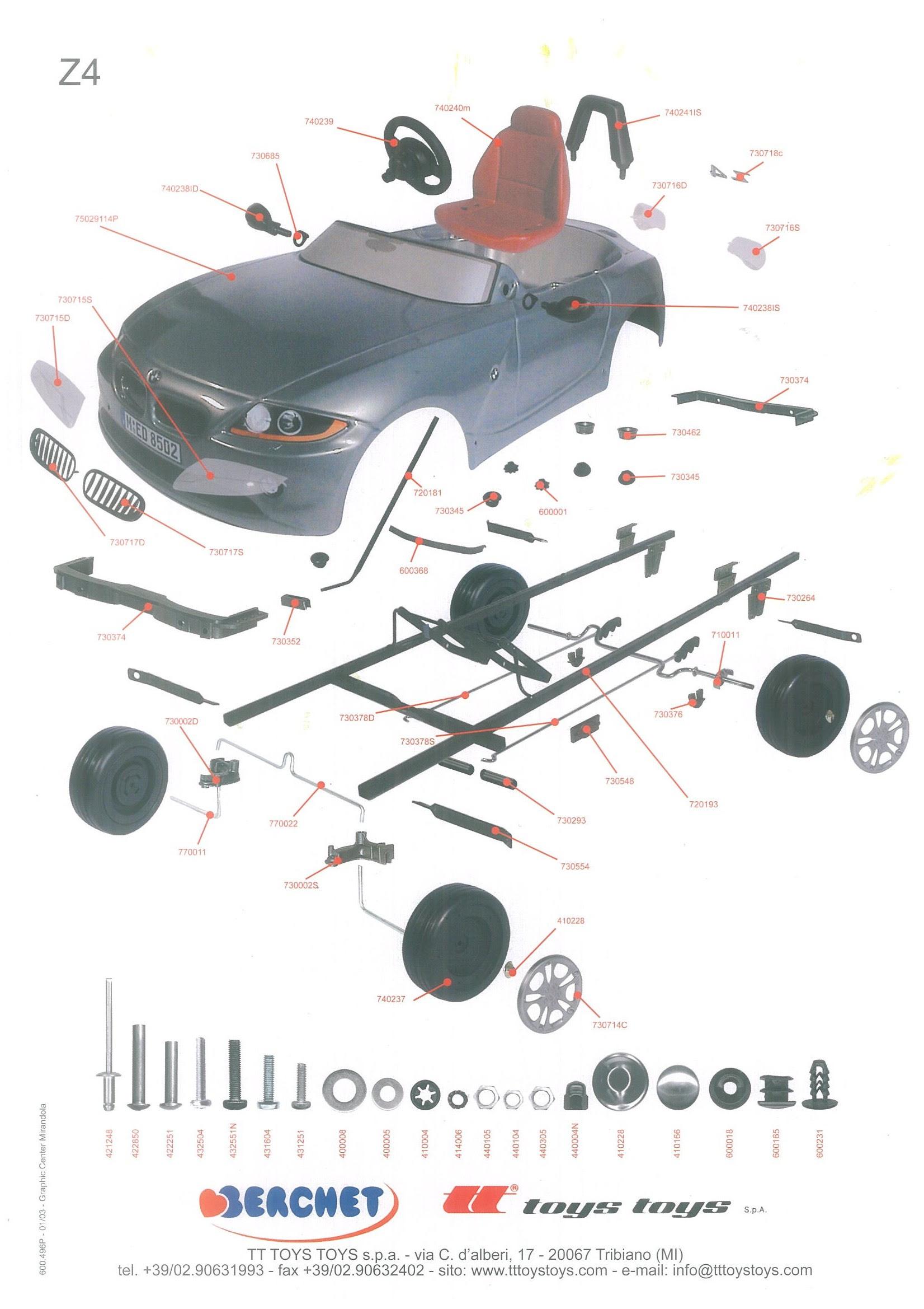 2003 Bmw Z4 Parts Diagram