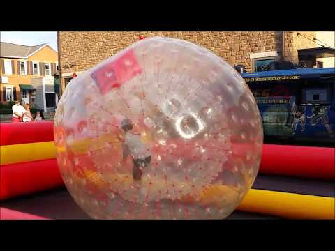 Mark in the Hamster Ball