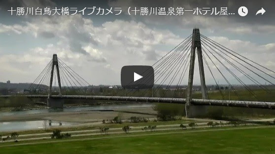 Hakutyo Bridge of Tokachi River