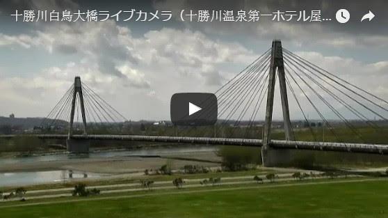 Hakutyo Bridge of Tokachi River
