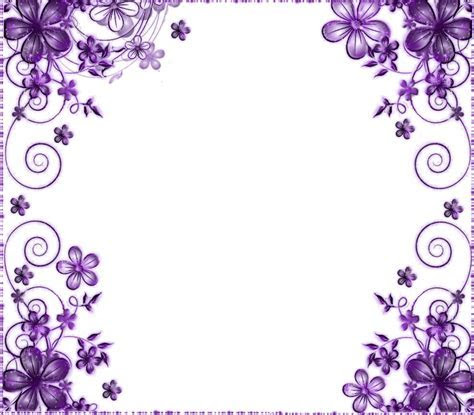 lavender background wedding   Wedding Invitation Border