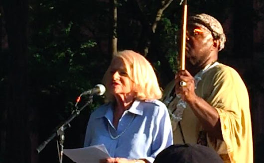 Videos: Edie Windsor Speaks at Rally for Homeless Youth (1st of 3)