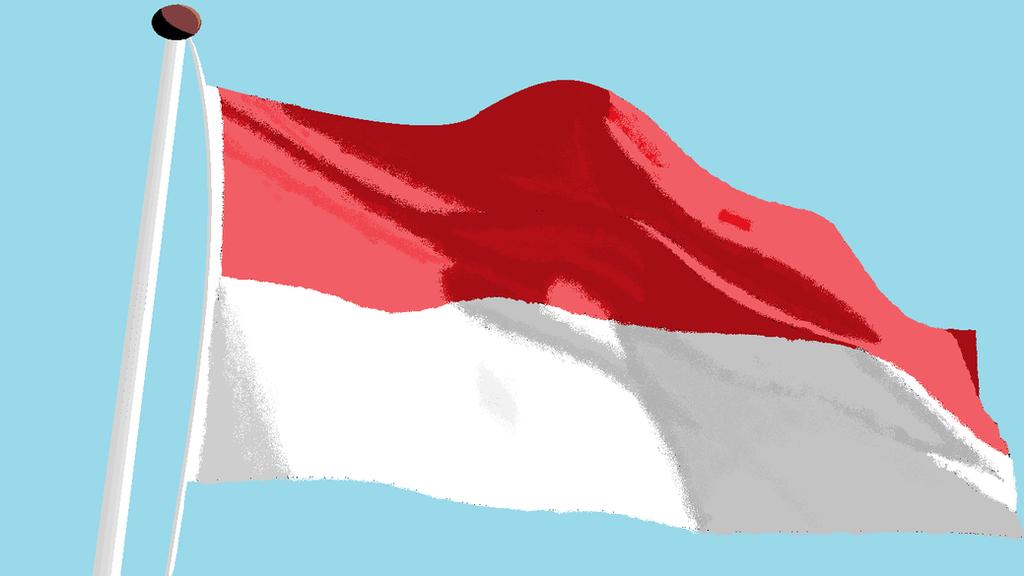 gambar bendera merah putih 17 agustus 1945