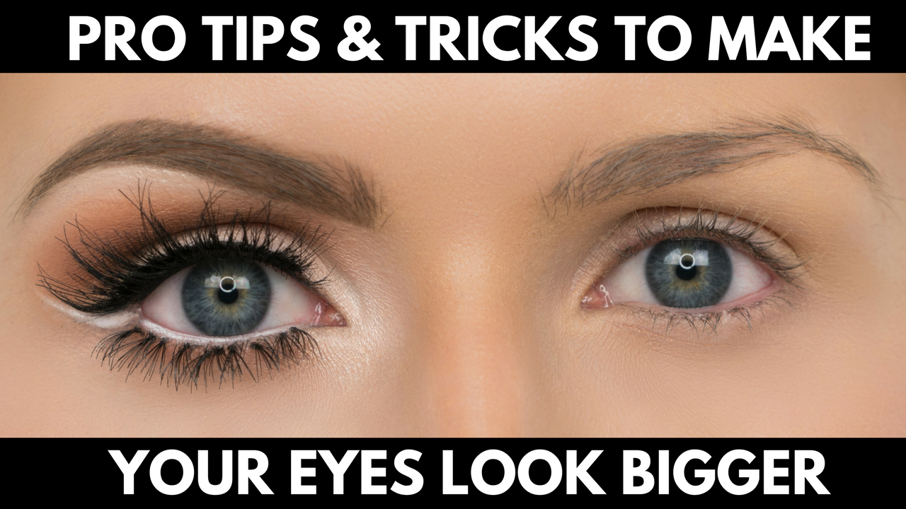 How To Make Your Eyes Look Brighter Without Makeup ...