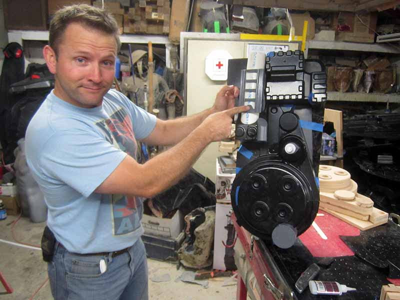 Proton Pack Tacked Together