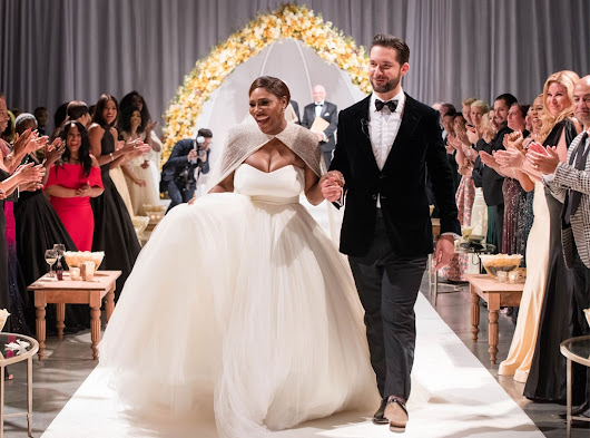 Serena Williams is married! See photos from her and husband Alexis Ohanian's in their beauty and the beast themed wedding