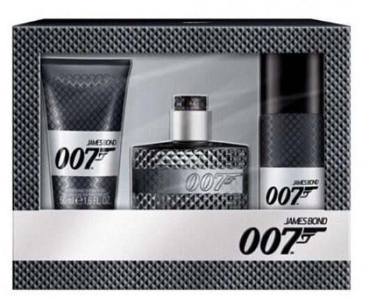 SET James Bond 007 James Bond 007 Eau de Toilette Edt 30ml + 50ml Shower gel + 50ml Deodorant 30ml