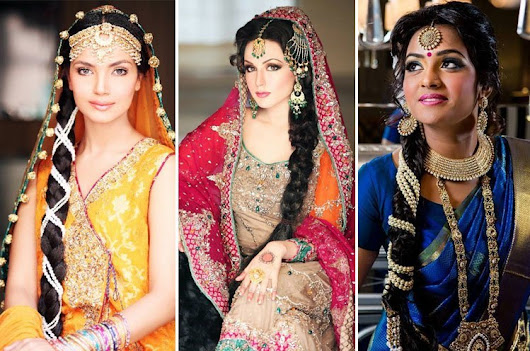Indian Wedding Hairstyles Perfect For Brides - Cuts n Cloths