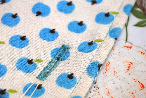 Knoopsgaten in tricot STAP 2.4