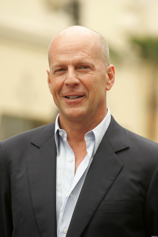 Thank You, Bruce Willis, For Making Bald Beautiful