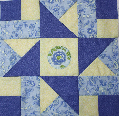Layercake Quilt Along Block 1