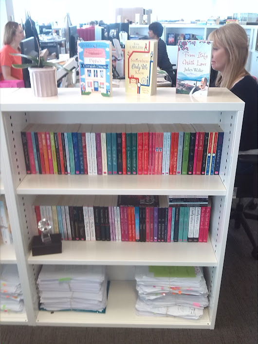 A Day in the Life of a Romance Editor:  HarperImpulse's Charlotte Ledger