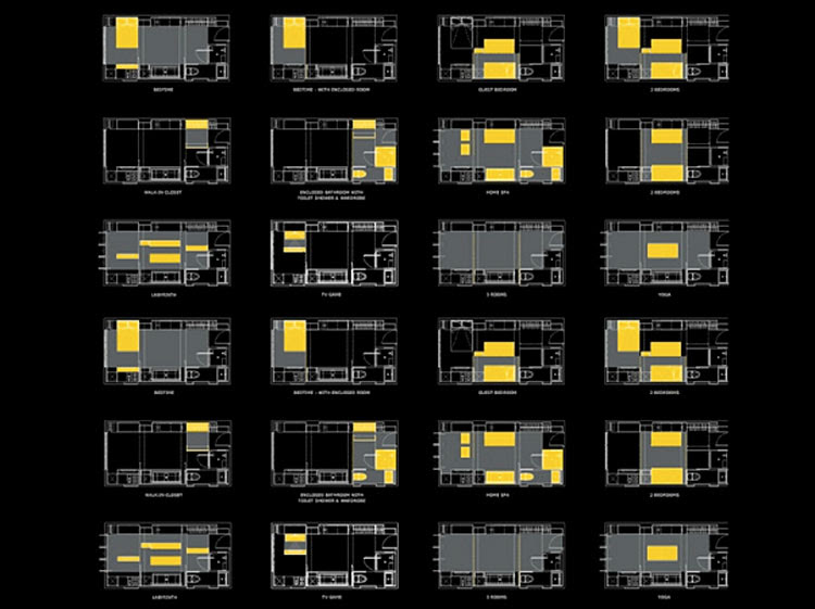 A Tiny Apartment in Hong Kong Transforms into 24 Rooms | HomeDSGN ...