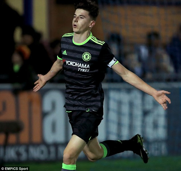 Chelsea Under 18s cruise into FA Youth Cup fifth   Daily ...