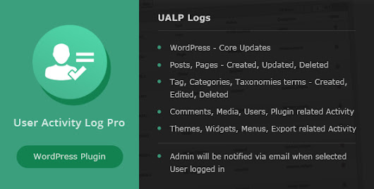 Download User Activity Log PRO for WordPress nulled | OXO-NULLED