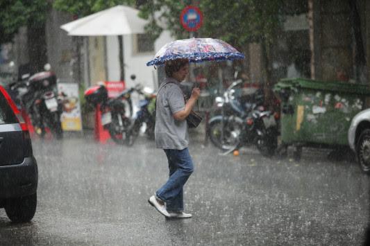Καιρός: Βροχές και καταιγίδες!