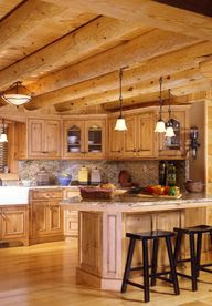 Log Cabin decorating ideas!