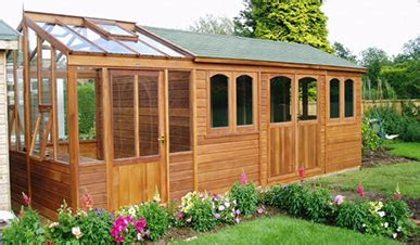 combined greenhouses sheds kent sectional buildings