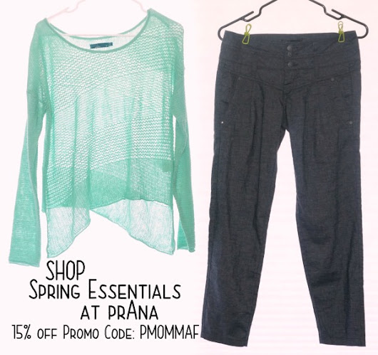 Shop For Your Spring Wardrobe Essentials at prAna (Plus Save 15% with an Exclusive Promo Code!)