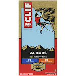 Clif Bar Variety Pack, Chocolate Chip, Crunchy Peanut Butter (2.4 oz., 24 Count)