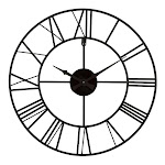 "La Crosse 20"" Metal Tower Wall Clock"