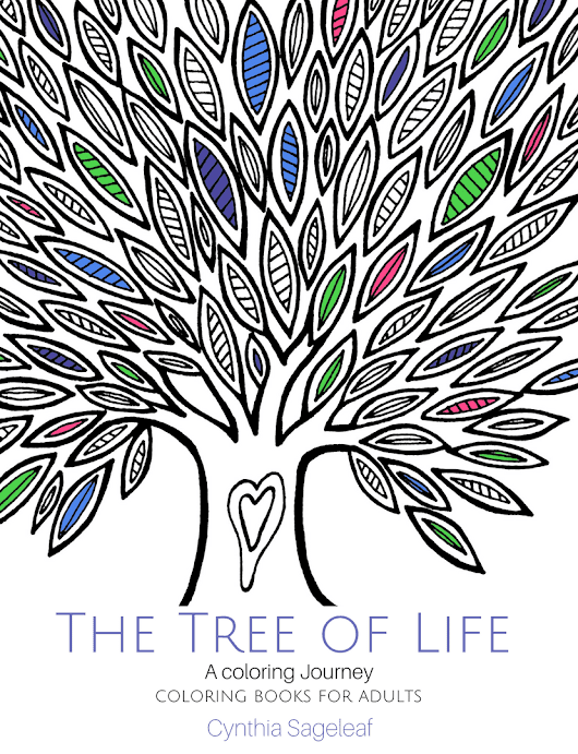 The Tree of Life Coloring Book - It's Here!