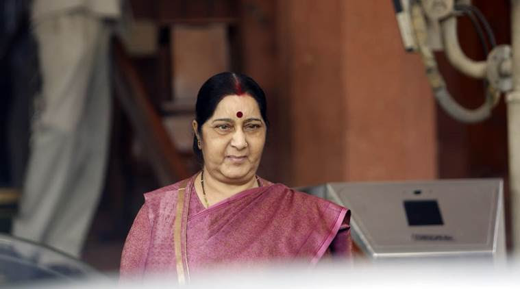 sushma swaraj, missing indians in iraq, indian hostages killed in iraq, islamic state, 39 indians killed
