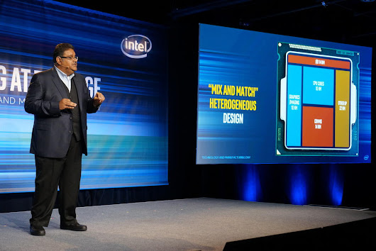 Future Intel CPUs could be cobbled together using different parts