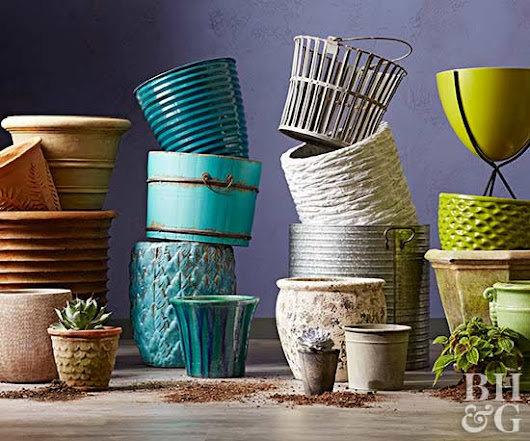 Make It Yours: Pick Your Perfect Garden Pot