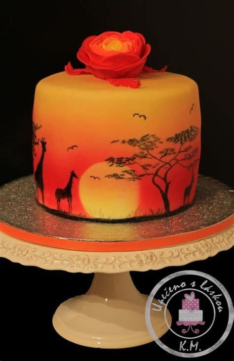 African Sunset   Cakes & Cake Decorating ~ Daily