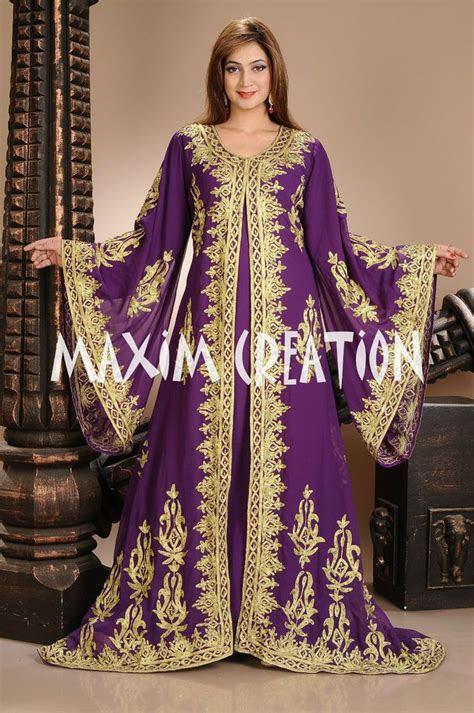 moroccan purple style kaftan thobe takshita jilbab