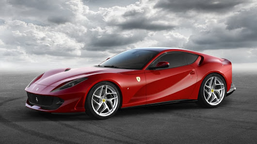 The new Ferrari 812 Superfast has a 789-hp V12, is self-explanatory