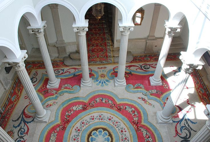 Patio de columnas del Palacio de Viana, perteneciente al Ministerio de Asuntos Exteriores.